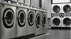 Four Commercial Washing Machine Appliances